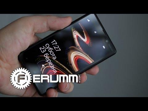 Nokia Lumia 820. Подробный обзор ( видеообзор ) от FERUMM.COM