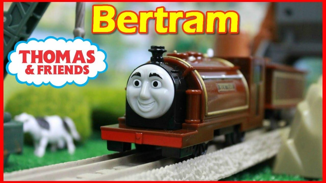 THOMAS AND FRIENDS Trackmaster Bertram |Thomas and Friends toy trains|Thomas Toys - YouTube