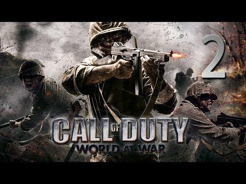 """Call Of Duty: World at War   En Español   Capítulo 2 """"Aterrizaje duro"""""""