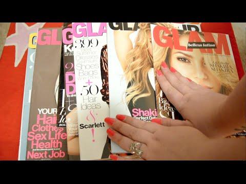 Binaural ASMR : Magazine Reading and Page Flipping / Whisper