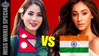 Shrinkhala VS India - Anukreethy Vas VS Miss Nepal, Who is better?