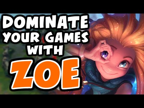 Learn To DOMINATE With ZOE | Challenger Zoe - League Of Legends