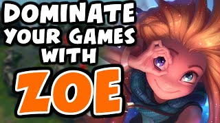 Learn to DOMINATE wİth ZOE | Challenger Zoe - League of Legends