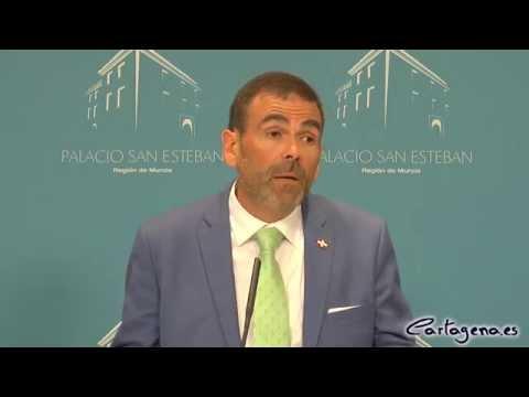 Pedro Antonio Sánchez considera a Cartagena un motor de la Comunidad Autónoma