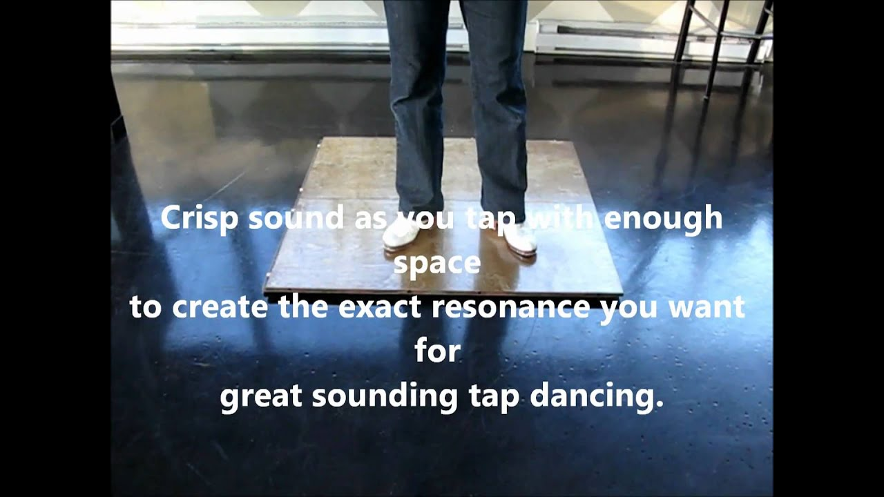 Portable Light Tap Dance Floor   New Tappinu0027 Floor 1 Of 7   YouTube