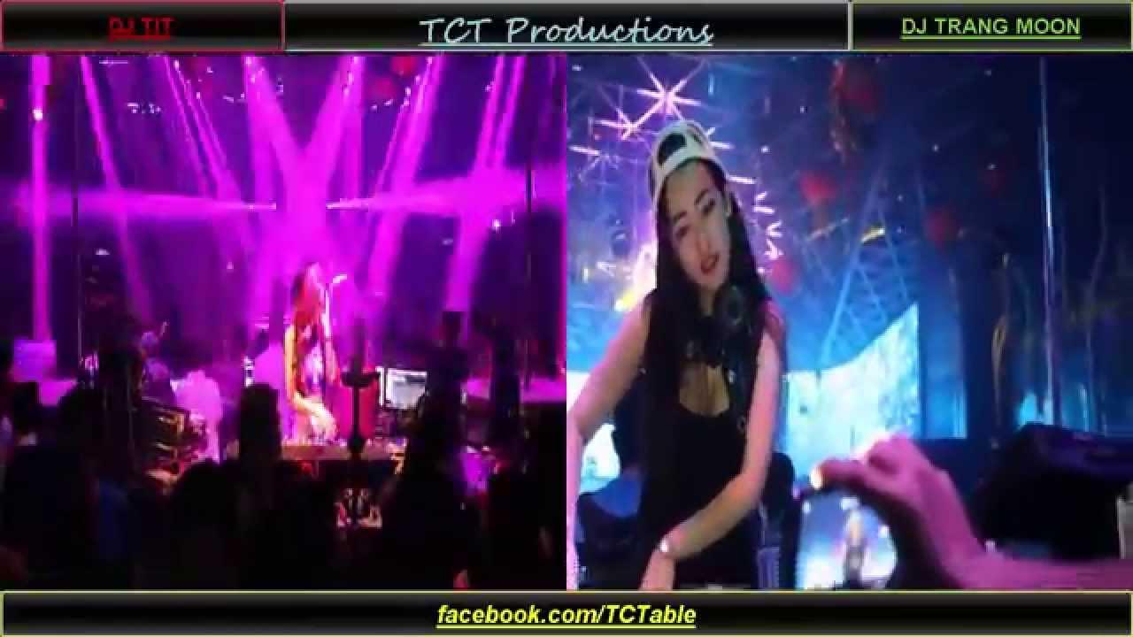 DJ Nonstop 2016 –  DJ Trang Moon vs DJ Tít