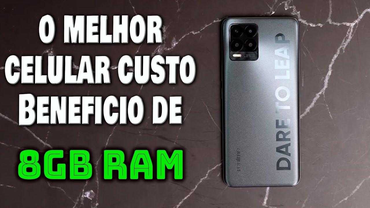 MELHOR CELULAR BOM E BARATO DE 8GB RAM JUNHO 2021