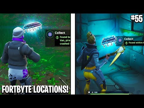 All Fortbyte Locations! New Fortbyte Locations in Fortnite! (Haunted Hills Fortbyte Location)