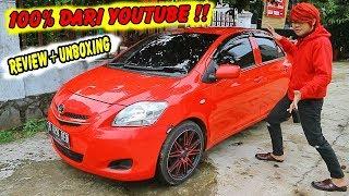 SERBA MERAH !! Unboxing Mobil Dari Youtube ~ Review & Test Drive