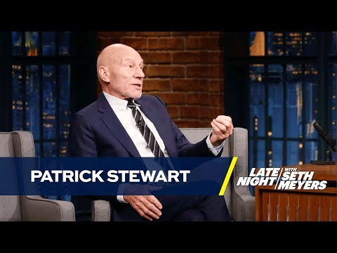 Patrick Stewart Has Beef with James McAvoy's Professor X