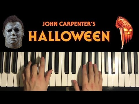 HOW TO PLAY - HALLOWEEN THEME - by John Carpenter (Piano Tutorial Lesson)