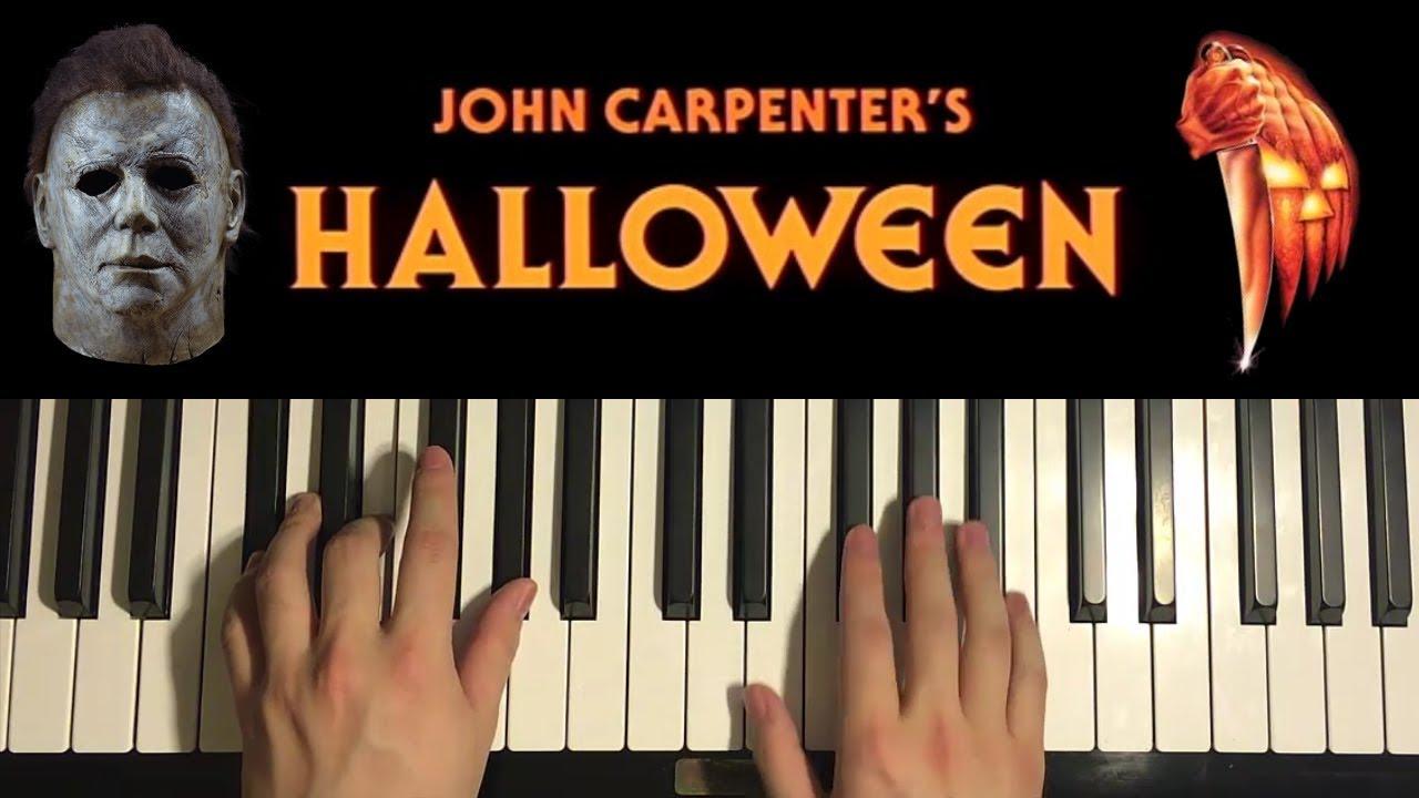 Halloween 2020 John Carpenter Music HOW TO PLAY   HALLOWEEN THEME   by John Carpenter (Piano Tutorial