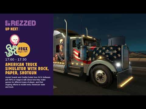 American Truck Simulator interview with Rock, Paper, Shotgun - EGX Rezzed 2018