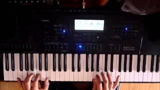 В.Цой и гр.Кино-Кукушка(cover на синтезаторе Casio CTK-7200)
