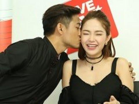 Quý Bình hôn say đắm Minh Hằng trước 11 triệu fans(tin tuc sao viet)