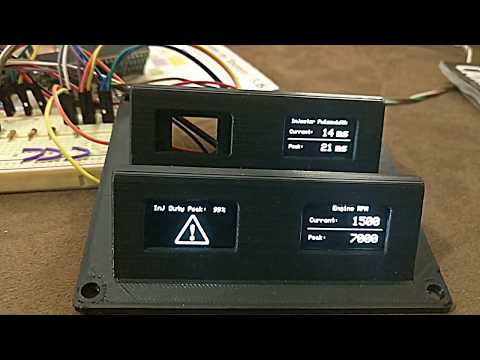 AEM Infinity Arduino CAN Bus Display - Part 3