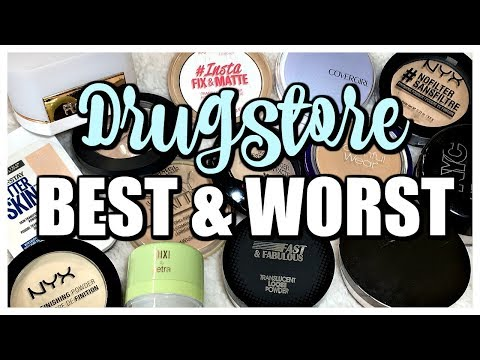 Best & Worst | Drugstore Powder Collection