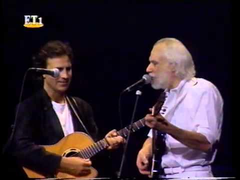 Georges Moustaki & Dalaras - Le métèque - Lyrics in France & Greek