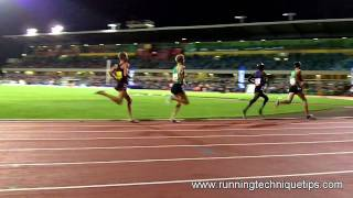 Bernard Lagat, Chris Solinsky, Matt Tegenkamp, Ben St Lawrence in HD Slow motion