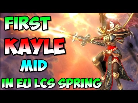 First Kayle Mid pick in EU LCS 2017 Spring FNC Caps