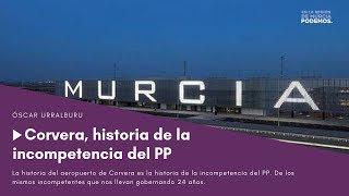Aeropuerto de Corvera: historia de la incompetencia del PP