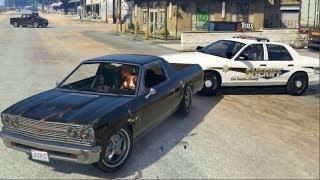 GTA 5 fiveM RP COPS Looking for ME!! Ends in Police Chase