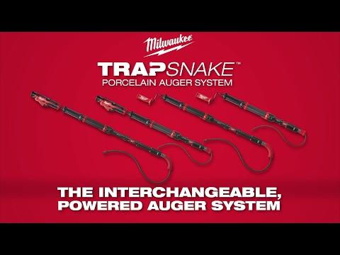 Milwaukee® TRAPSNAKE™ Porcelain Auger System