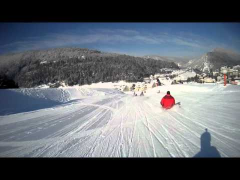 Villard de Lans Luge dans les filets Travel Video