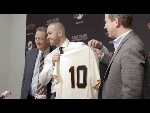 Evan Longoria visits AT&T Park for the first time