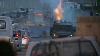 Two Palestinians  killed after clashes with Israeli security forces in the occupied West Bank.