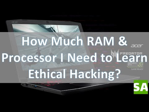 Computer Specs (RAM & Processor) For Ethical Hacking or Penetration Testing - Motivational Video