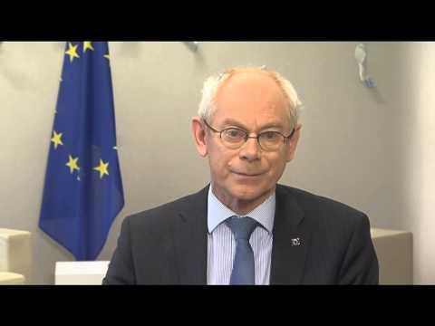 Herman Van Rompuy, President of the European Council- Global Diplomatic Forum