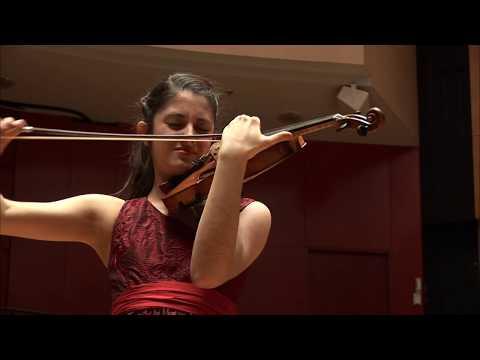 Niccolo Paganini Violin Concerto No 1, María Dueñas