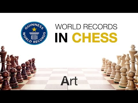 Guinness World records in chess 2017.