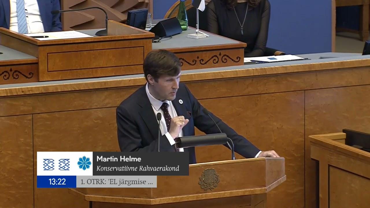 Martin Helme: Euroopa raha hind on meie iseseisva majanduse ja energiasõltumatuse hävitamine