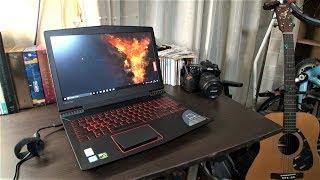 【開封の儀】 新しいノートPCを買いました Lenovo Legion Y520
