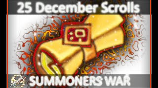 25 December Mystical Scrolls ~ 5 STAR HOLY SH*T + Bonus End Clip - Summoners War