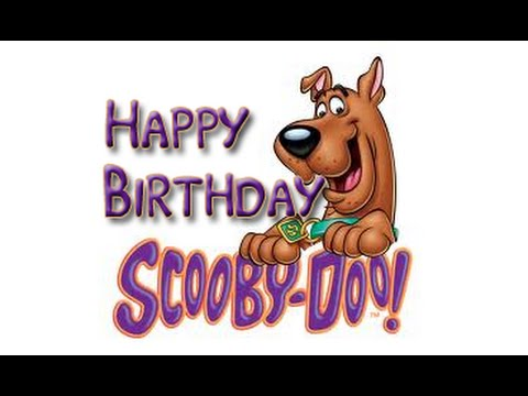 Happy Birthday Scooby Doo YouTube
