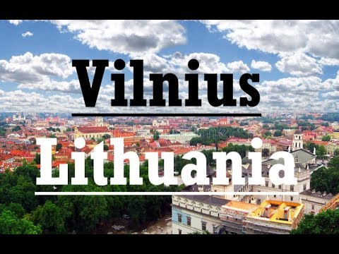 Vilnius Lithuania - Travel Video