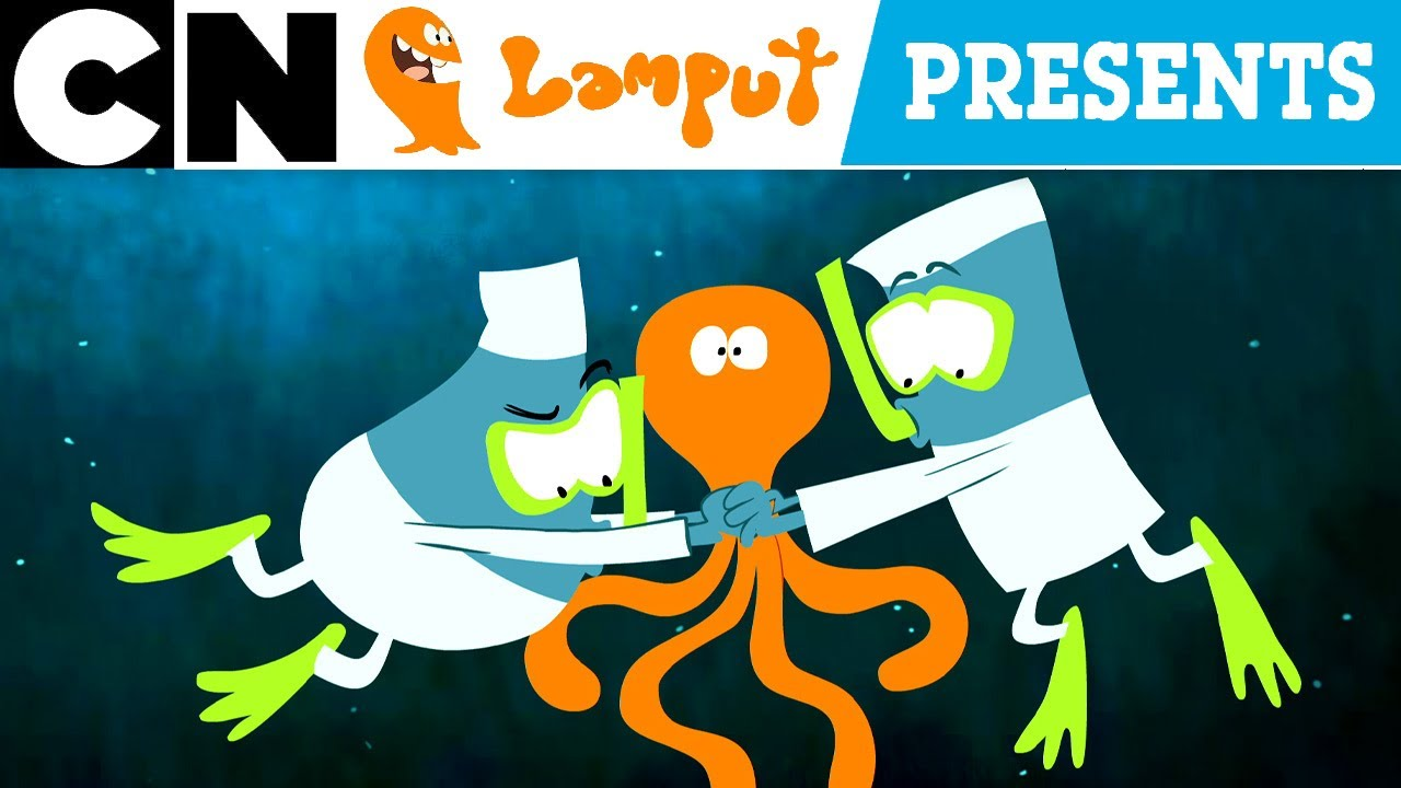 Lamput Presents | Is That a Squid 🦑  or an Octopus 🐙? | The Cartoon Network Show Ep. 43
