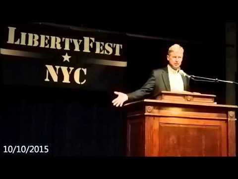 Gary Johnson at LibertyFest NYC 2015