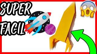 Origami | Como hacer un Coete de papel [El Dibujante]