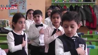 Slaq am «Ա» տառի շնորհանդես ՝  Չեխովի անվան համար 55 դպրոցում