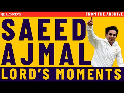Saeed Ajmal's Highlights | MCC vs ROW Lord's Bicentenary ...