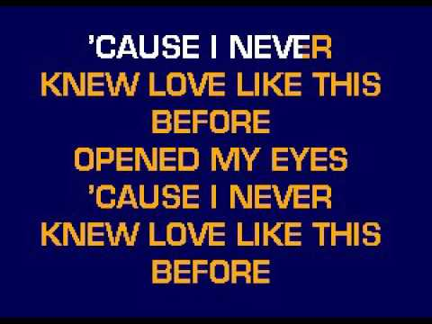 CB5121 01 09   Mills Stephanie   Never Knew Love Like This Before [karaoke]
