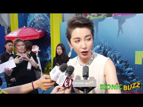 Bingbing Li  at The Meg World Premiere