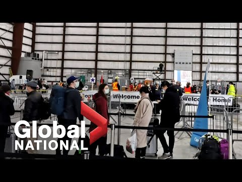 Global National: Feb. 7, 2020 | Coronavirus evacuees arrive in Canada, under quarantine