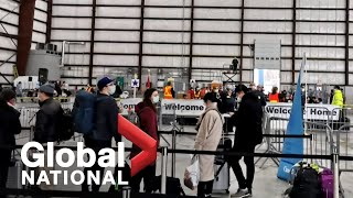 Global National: Feb. 7, 2020 | Coronavirus evacuees arrive in Canada, under quarantine