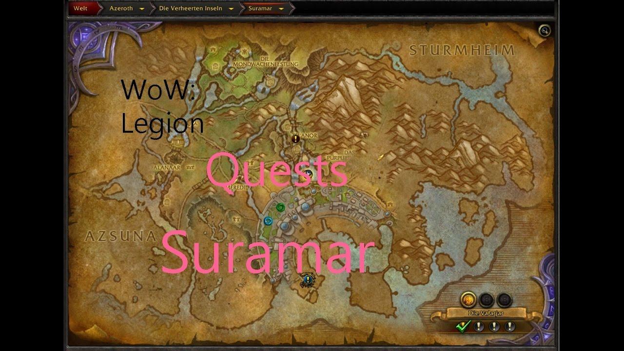 Izocke Wow Legion Quests In Suramar 218 Zeit Der Veränderung