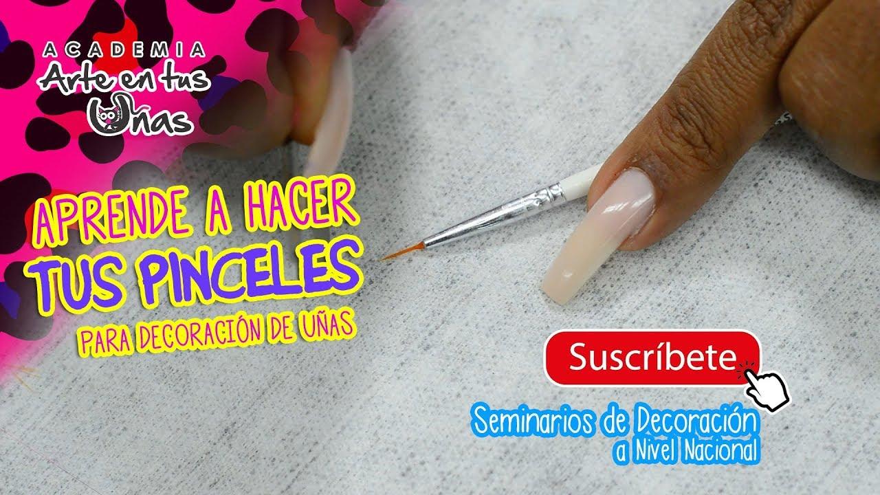 Aprende a arreglar tu pincel para decoración   Tutorial de ...